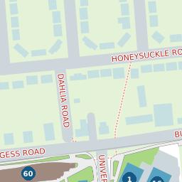 University of Southampton Map